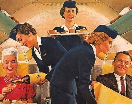 Should you drink wine on a flight?